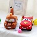 Плюшевые игрушки гоночных автомобилей, Молния автомобильной друг куклы подвески кукла, Подарок на день рождения, Рождественский подарок, Свадебный подарок