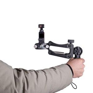 Image 2 - Sniper Primavera Singola maniglia asse Z per DJI OSMO TASCA/2 ZHIYUN Liscia 4 per Smartphone e Macchina Fotografica di Azione cardano stabilizzatore