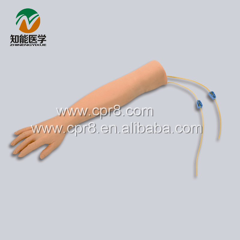 BIX-HS1 Arm Venipuncture Injection Model / Arm Intravenous Puncture Manikin G131 economic injectable training arm model with infusion stand iv arm injection teaching model