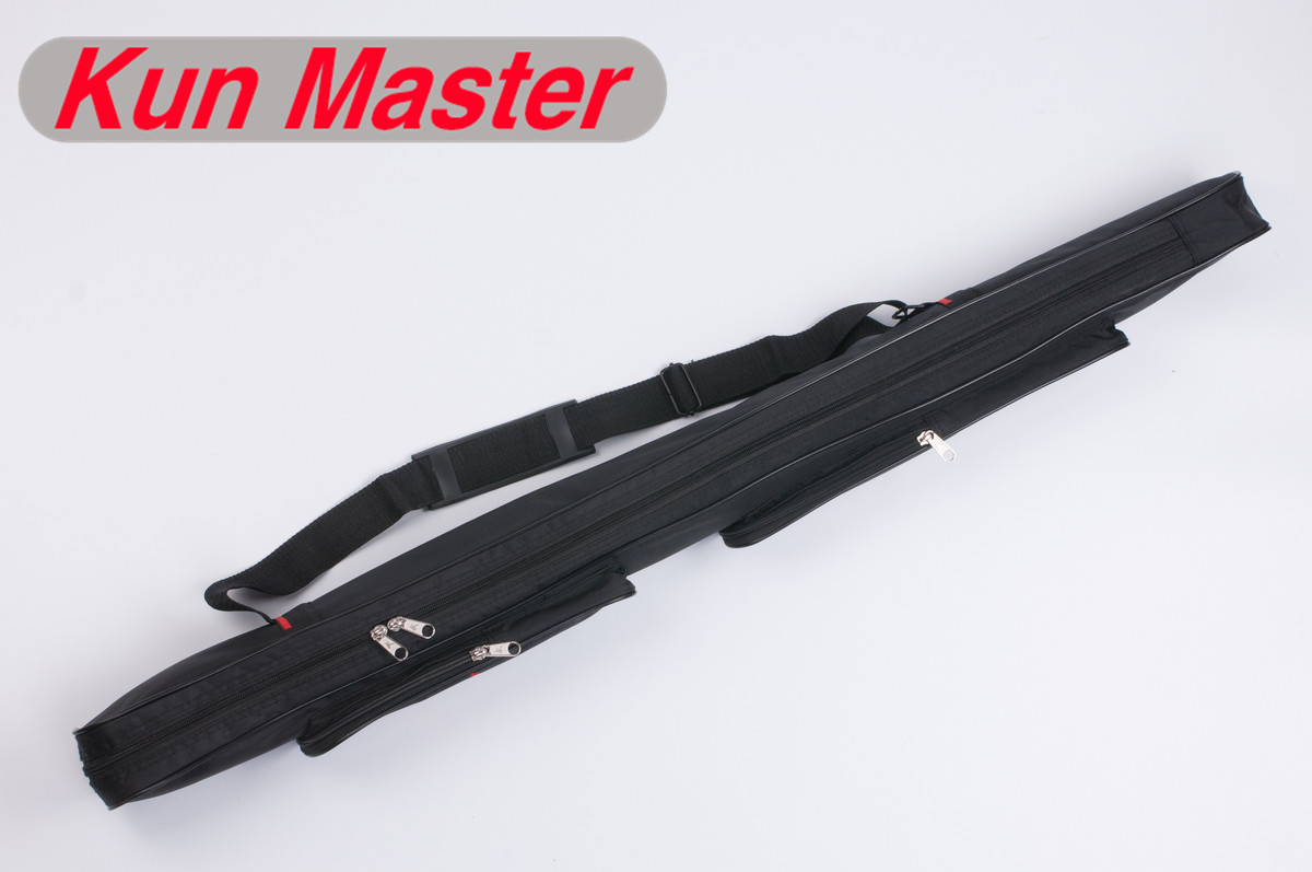 US $24 99 |110cm Oxford Cloth Tai Chi Wushu Sword Bag,Kendo Knife Bag,  Weapon Carrying Case With Strap And Compartment,Accommoda 2 Sword-in  Martial