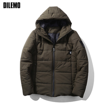 New Fashion Brand Clothing Parka Men High-quality Thick Hooded Mens Winter Jackets Classic Mens Jackets And Coats Winter