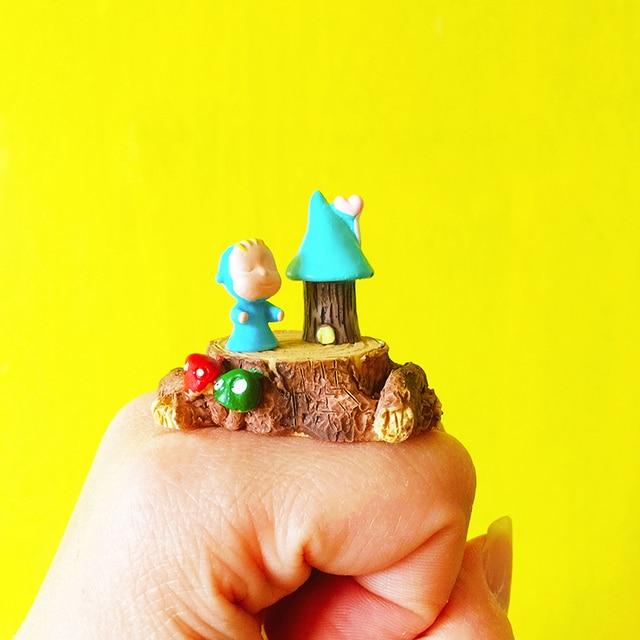 10pcs~dream Baby/little Girl/miniatures/lovely Cute/fairy Garden Gnome