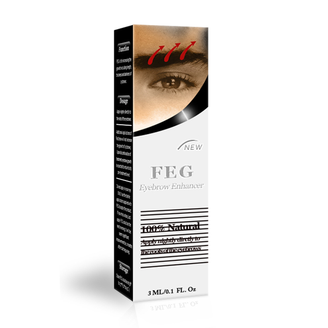 100% Original FEG Eyelash Enhancer Eyelash Serum 7 Days Grow 2-3mm FEG Eyebrow Enhancer Eyebrow Serum Natural Hair Growth Factor 5