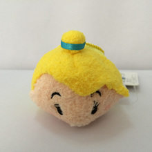 Random 1 Piece Mini 9cm Soft Plush doll Toys Screen Cleaner cute cartoon animal bag pendant