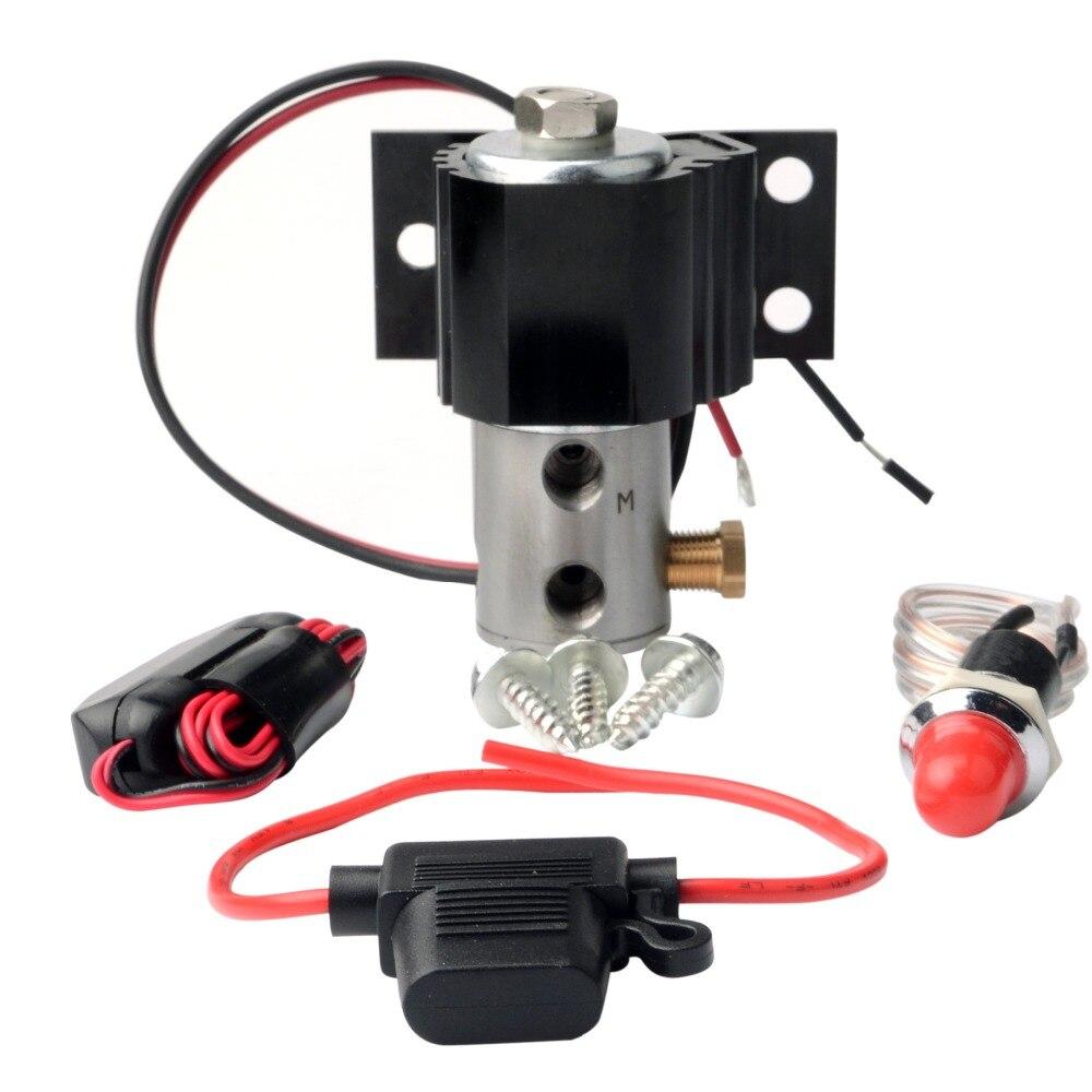Kit de verrouillage de ligne de frein vanne de contrôle de rouleau ligne de support de colline support de pression de verrouillage de parc de frein hydraulique pour tambour à disque avec lumière et interrupteur