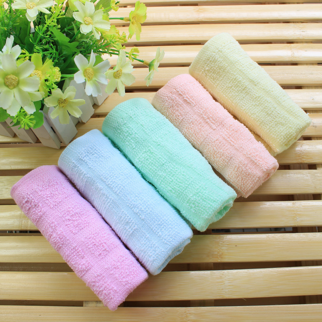 Microfiber Cleaning Cloth Pattern: 50 Pcs Microfiber Cleaning Towels Rags Kitchen Small Cloth