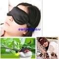 1 unids Llenado Seda Pura los ojos vendados Eyeshade parche EyeShade Sleeping Eye Mask Cubierta para proteger la luz salud sleep Goggles
