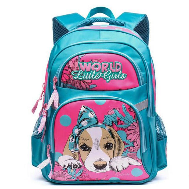 Grizzly Orthopedic School Bags for sale backpack schoolbag for Girls kids baby bags Grade1-6 Quality assurance Free shipping