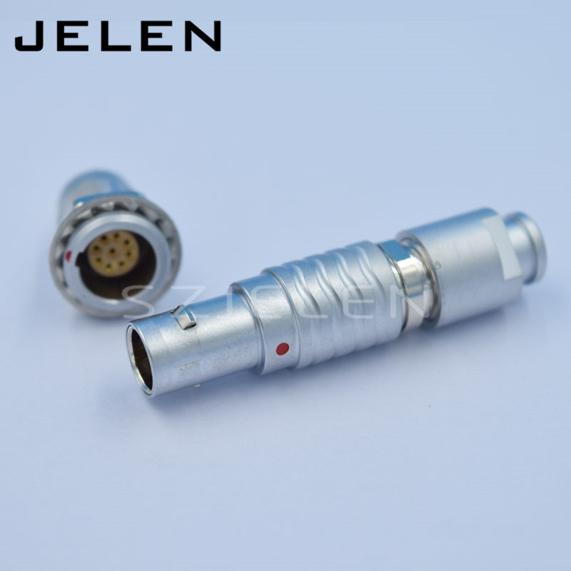 SZJELEN connector EGG.0B.309.CLL , FGG.0B.309,CLAD**Z  , 9pin connector,cable connector male and female connector lemo 1b 6 pin connector fgg 1b 306 clad egg 1b 306 cll signal transmission connector microwave connectors
