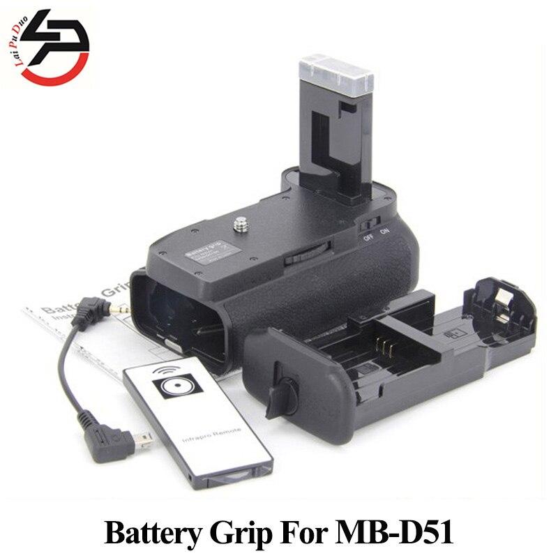 Camera Battery Grip for Nikon D5200 D5300 D5100 MB-D51 BG-D51 EN-EL14 батарейный блок flama bg d5100 o для nikon d5100 c пду page 3