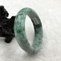 Сертифицированный Класс натуральный зеленый камень камней браслет стиль тонкой камень благородный 100% натуральный камень
