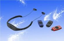 Reproductor de mp3 para la natación a prueba de agua 4 GB IPX8 impermeable con Radio FM —– Envío Libre + NUEVO