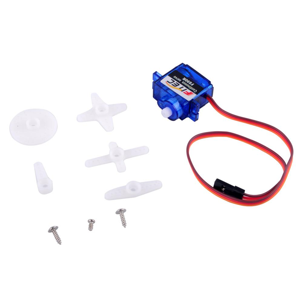 RCmall Feetech FS90R Servo 360 Degree Continuous Rotation Micro RC Quadcopter Servo For RC Car Boat Robot Drones FZ0101-01 (3)