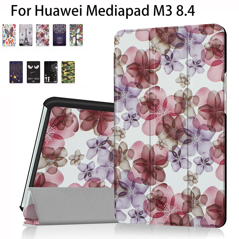 Super Slim Leather Case cover For Huawei MediaPad M3 BTV-W09 BTV-DL09 8.4 inch Case Tablet Funda Flip Original Ultra Stand Shell silicon pu leather case for huawei mediapad m3 btv w09 btv dl09 8 4 inch smart sleep case cover tablet flip shell funda capa