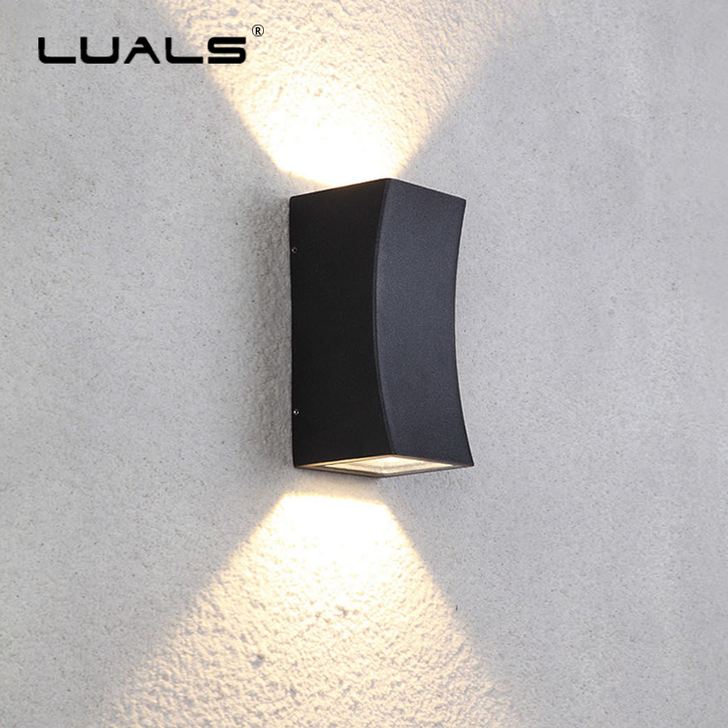 Garden Outdoor Wall Lamp Creative Cast Aluminum Wall Lights Luxury Home Wall Lamps Hallway Simple Modern Wall Light LED Lighting modern wall lamp outdoor waterproof led wall light garden wall lamps cast aluminum porch lights luxury home art deco lighting