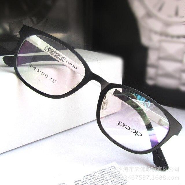 Ультра-дешевый лёгкие пластик очков оправы подлинная волна из женское полный - рама модели с 1209 оправы близорукость
