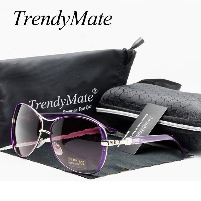 Hot 2017 Oculos High Quality Sunglasses Women Glasses Vintage with Box Sunglasses Women Brand Designer Ladies Sun Glasses M071 2