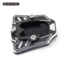 Stand Extension Plate For HONDA NC700S NV 700X NC750S CB 900F HORNET CB400 Motorcycle Accessories CNC Side Kickstand Protector