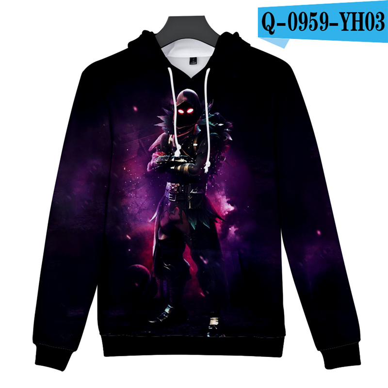 Fortniter Battle Royale Hoodie Game Hoodies 3D Game Clothing Fortnited Popular Clothes Women Clothes Game Clothes Sweatshirt