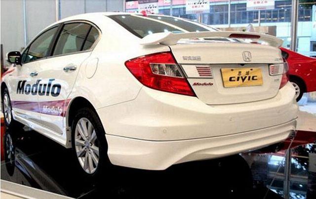 Usar Para Honda Civic Spoiler 2012 2015 Civic Asa Traseira