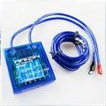 Hot Voltage PIVOT MEGA RAIZIN Fuel Saver Voltage Stabilizer Regulator Grounding + 3 Earth Ground wire Blue