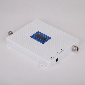 Image 4 - 4g 부스터 GSM WCDMA LTE UMTS 2g 3g 4g 휴대 전화 신호 부스터 70dB 900 1800 2100 트라이 밴드 신호 증폭기 리피터 유닛