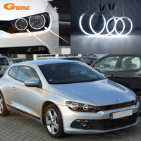 For Volkswagen VW Scirocco 2008 2009 2010 2011 Non Projector Excellent Angel Eyes Ultrabright Illumination CCFL