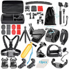 Neewer 50 In 1 Sport Accessory Kit For GoPro Hero4 In Swimming Rowing Skiing Climbing Camping