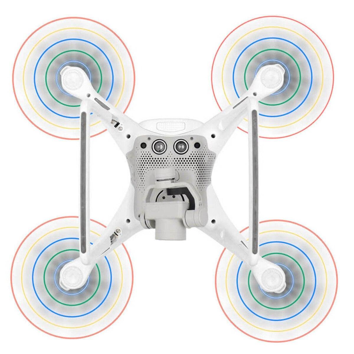 2PCS 1 Pair LED Light Flash Propeller USB Charging For DJI Phantom 4 Pro Camera Drones Accessories Night Flying Fun