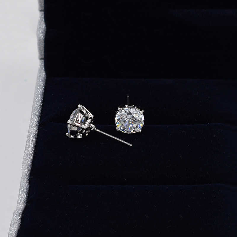 Topingeping Marka 2018 Yeni Moda genç kız takısı Zarif Kristal Zirkon Küpe Altın Kaplama Takı Kadınlar Düğün Küpe