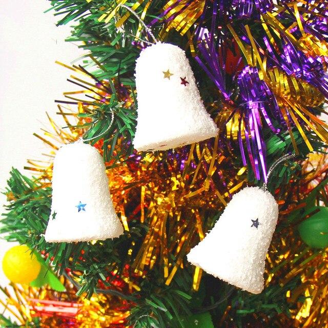 Weihnachtsfeier Dekoration.Us 0 63 Weihnachten Urlaub Partei Weihnachten Festival Ornamente Decor Schaum Klirrend Glocke Weihnachtsfeier Dekoration Weihnachtsbaum Anhänger In