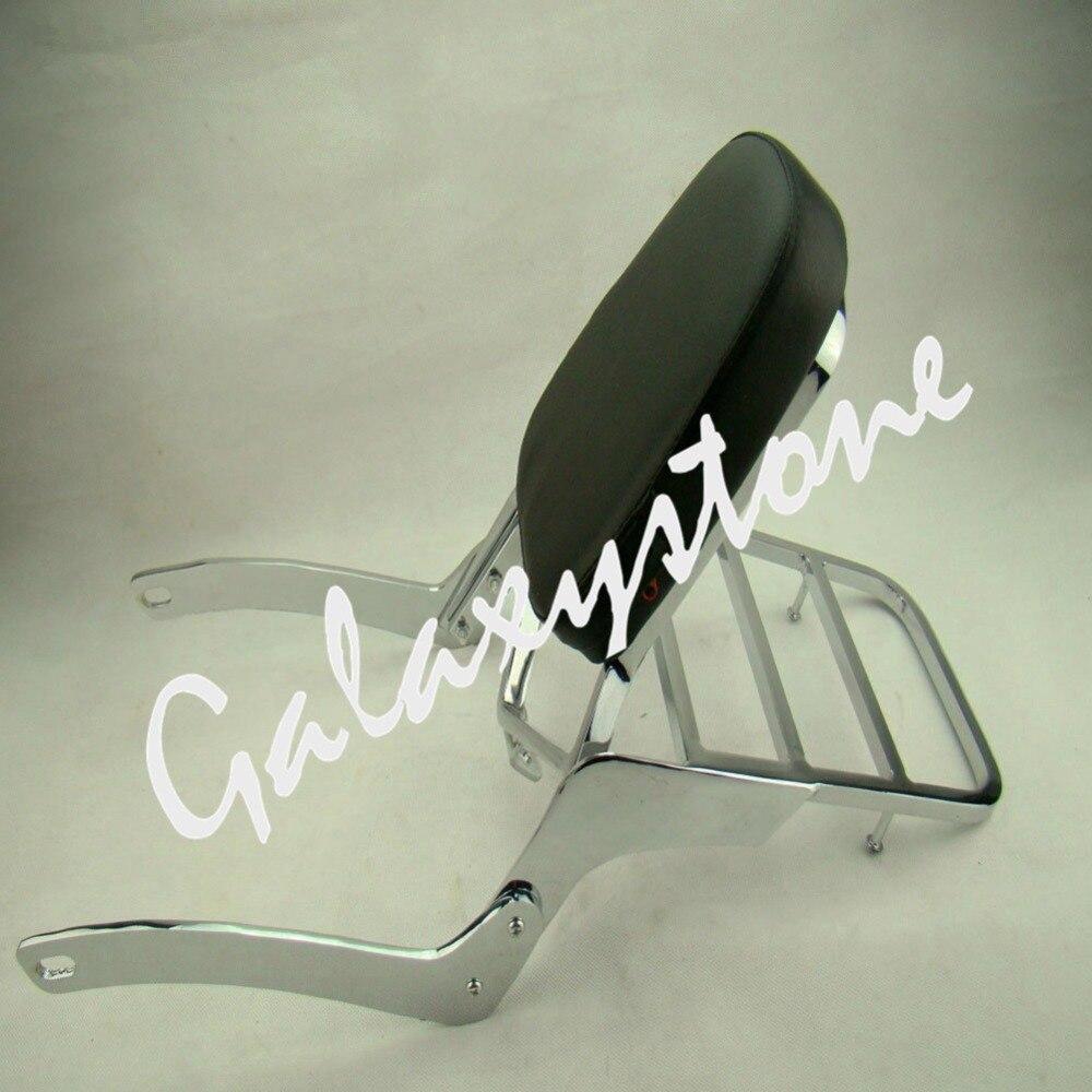 Motorcycle Sissy Bar Passenger Backrest Luggage Rack For Yamaha Virago XV125 XV250 1989-2004 2005 2006 2007 2008 2009 2010 2011