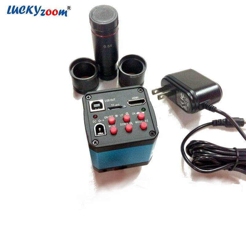 14MP HDMI CMOS USB2.0 Numérique L'industrie Électronique HD Industrielle Caméra Vidéo pour Microscope Oculaire C-mont shiping libre