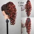 Hot Sale Women's Synthetic Fiber Ponytails Fashion Long hair Wavy Ponytails Resistant 160 Degree High Temperature FREE SHIPPING