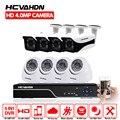 HCVAHDN Neue Super Full HD 8CH AHD 4MP Hause outdoor Indoor CCTV Kamera System 8 Kanal 5MP NVR Überwachung sicherheit kamera kit
