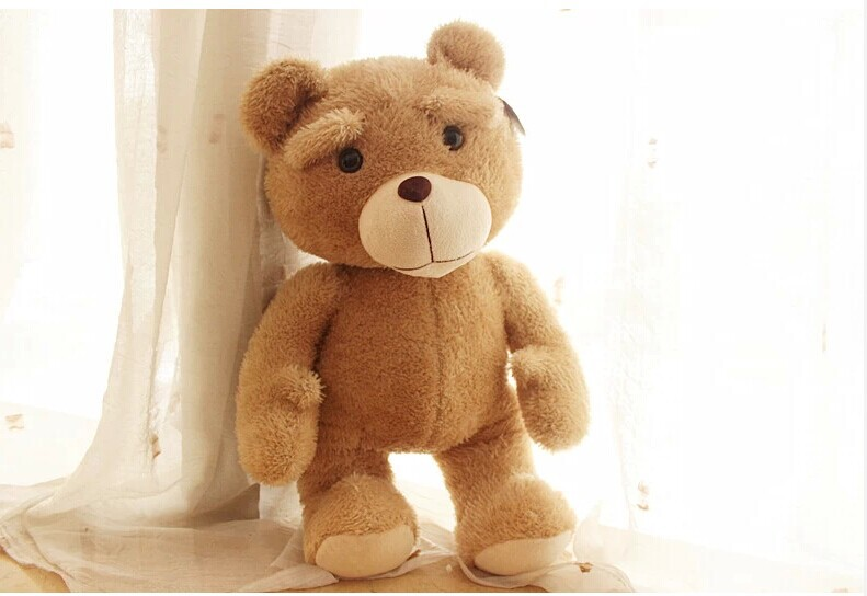 lovely  teddy bear toy plush boy Rogue bear toy birthday gift doll about 60cm new creative plush teddy bear doll lovely plaid suit ted bear toy gift about 60cm
