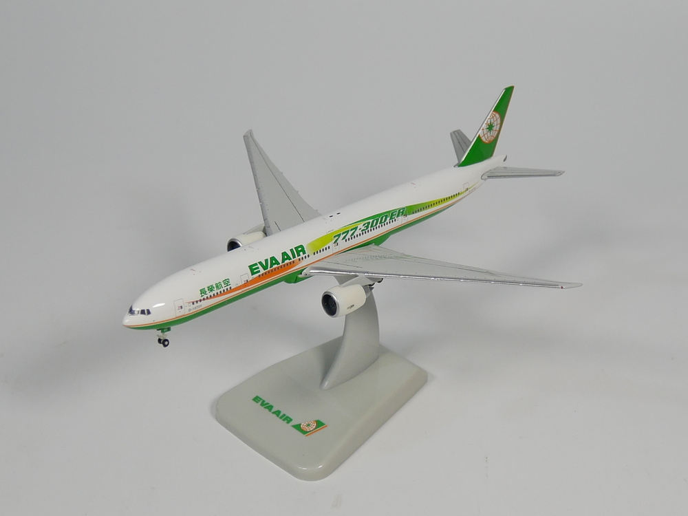 hogan 1:500 EVA AIR Boing 777-300ER B-16701 Diecast Airplane modelhogan 1:500 EVA AIR Boing 777-300ER B-16701 Diecast Airplane model