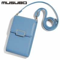 Musubo Luxury Woman Phone Bag Case For Samsung GALAXY S9 S8 Plus S7 Edge Girl Messenger Leather Mini Crossbody Bag Wallet Cover
