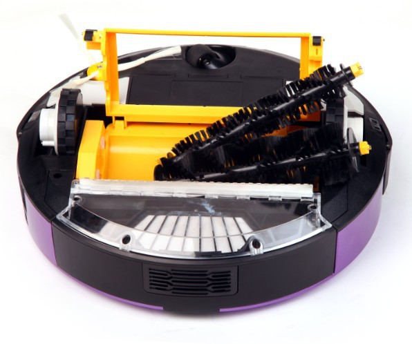 Multifunctional robot vacuum cleaner, vacuum, mop, disinfectionscan, two-way virtual wall, recharge myself
