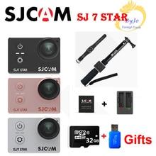 """Оригинальный SJCAM SJ7 звезды спорта экшн-камеры 4 К DV HD 2.0 """"сенсорный экран водонепроницаемый камеры спорта автомобильный видеорегистратор SJ Cam 32 г SD карты подарок"""