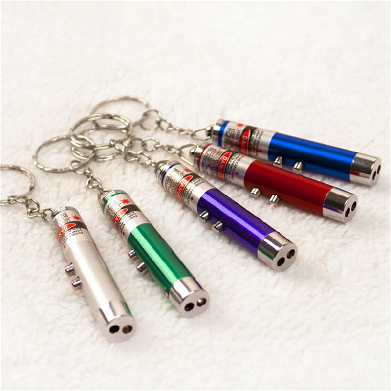 Children Toys Color Led Laser Popular Pen Pet Random Red 1pc Funny Cat Light White Pointer Play