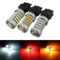 3157 T25 P27/7W 4014 92 Auto Car LED Rear Tail Brake Stop Reverse Daytime Running Light Bulb Backup Lamp Red White Yellow