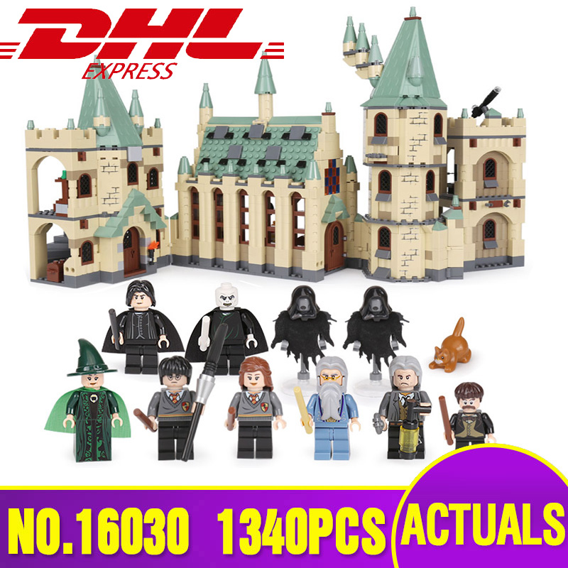 DHL 16030 Creative Toys Movies The Castle Building Block Bricks Compatible with 4842 Assembly Toys for
