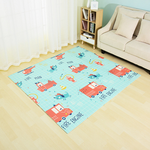 Image 5 - Infant Shining Reversible Baby Play Mat Cartoon Soft Mat Big Size 180*200*1CM Thickened Kids Rug Game Pad Playmat for Children