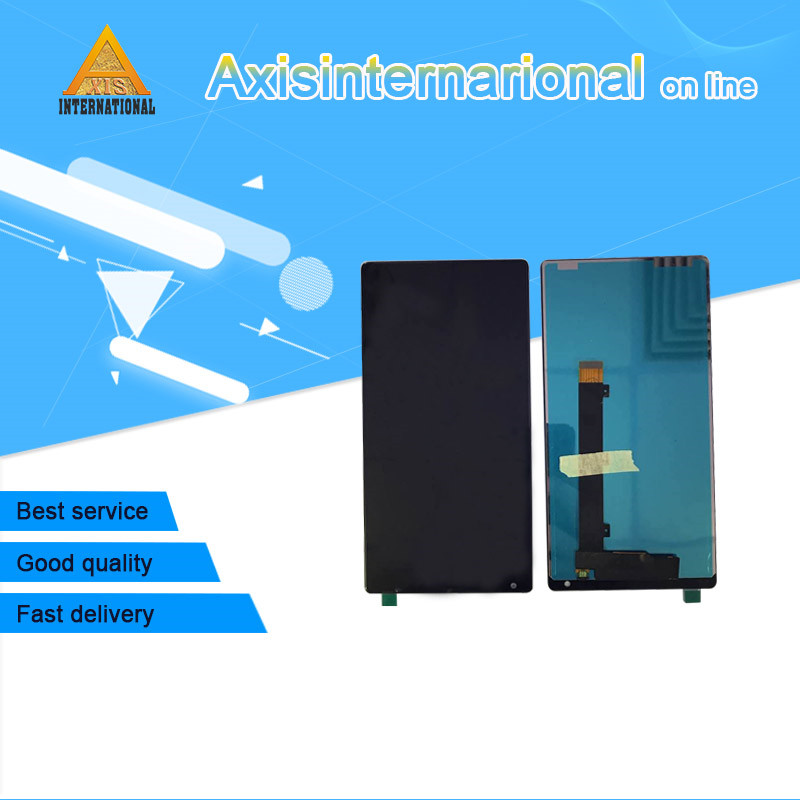 For 6 4 Xiaomi Mi MIX Axisinternational Lcd screen Display Touch panel digitizer white black color