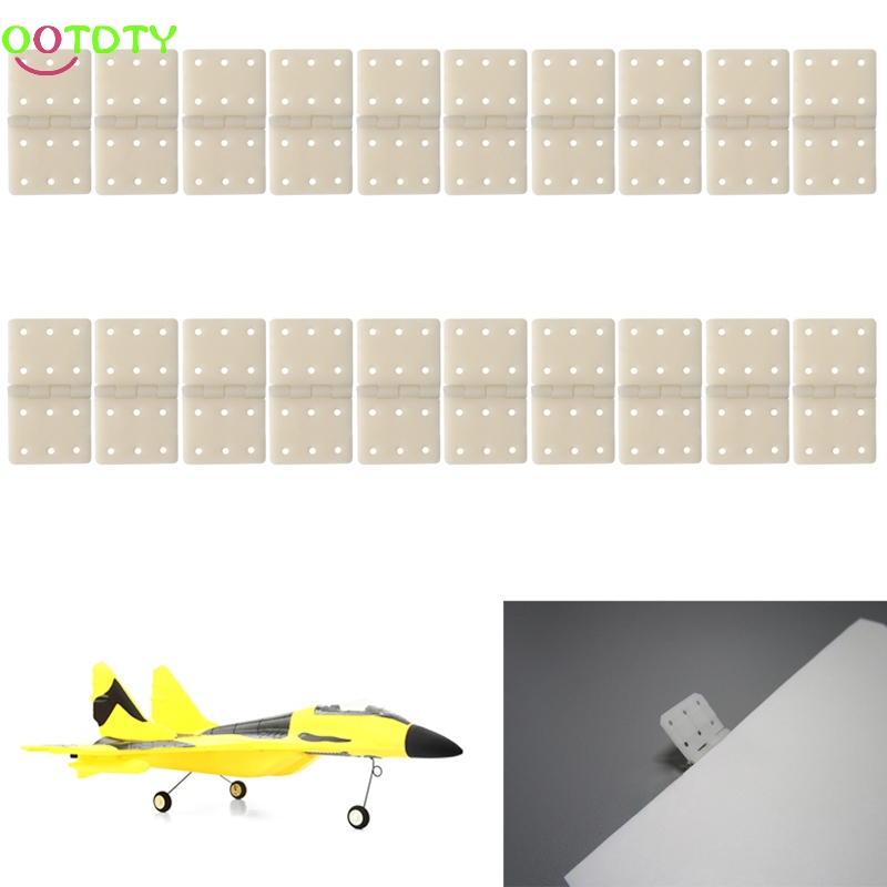 20Pcs Hinge Linker Plastic Medium for RC Airplane Aircraft Helicopter Quadcopter Gift