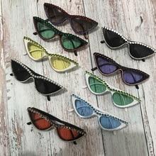 ZAOLIHU New Creative Cat Eye Women Diamond Sunglasses 8 Colo