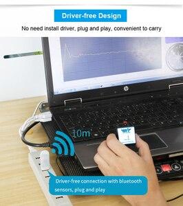 Image 2 - WitMotion Bluetooth 2.0 USB HID Adapter Free Drive moduł przeciwpyłowy HC 06 bezprzewodowy połączony z czujnikiem WitMotion Bluetooth 2.0