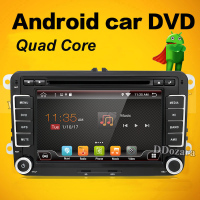Two Din Android 7 Inch Car DVD Player For Skoda Octavia Fabia Rapid Superb VW Seat