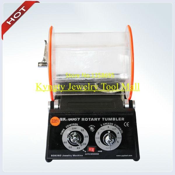 Rotary Tumbler Rotary Outils Bijoux Machines-outils Capacité 3 kg avec 500g Médias Polonais Charge Libre Rapide Expédition